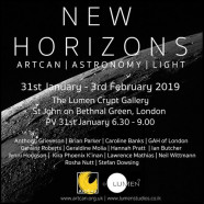 NEW HORIZONS – Art & Science, 31 Jan – 3 Feb 2019
