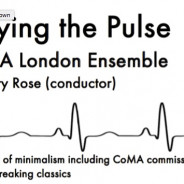 CoMA: Playing the Pulse, Tuesday October 24th, 8pm