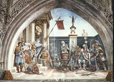 THE FEAST OF ST JOHN BEFORE THE LATIN GATE