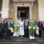 Muslims & Christians Together at St John's Mass, 21 August 2016