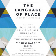 The Language of Place – 8 March 2016, 7pm