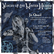 Jo Quail & Friends, 4 December, 7pm