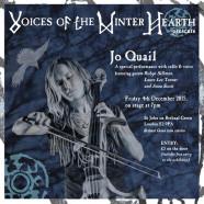 Jo Quail & Friends, 4 December, 7pm
